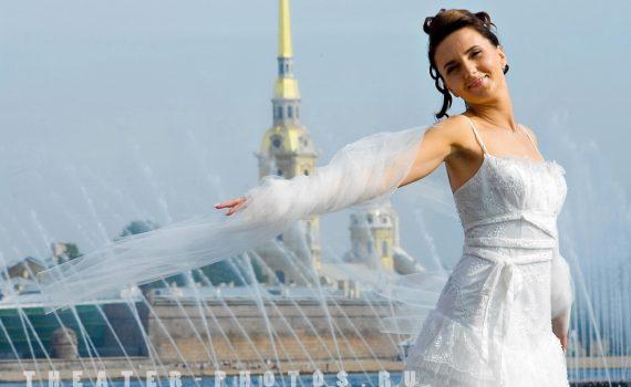 фонтан у стрелки Васильевского острова