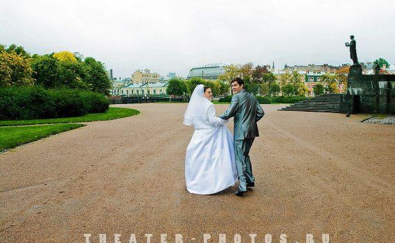 оборачивающиеся супруги