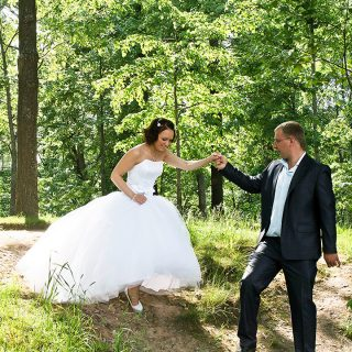 спускаем невесту