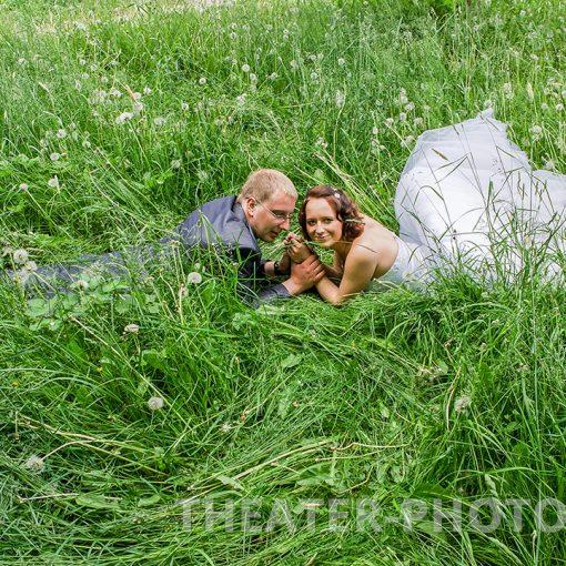 зеленая трава, свадьба