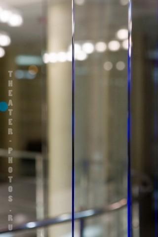 отражения перегородки из стекла