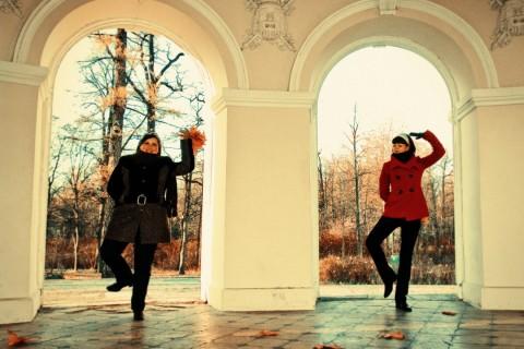 жонглирование на фото съемке