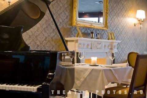 рояль в интерьере