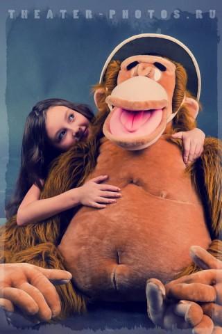 студийна обезьяна