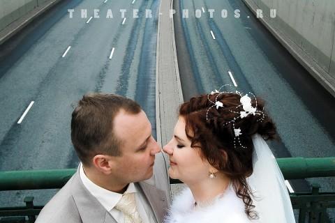 поцелуй на мосту