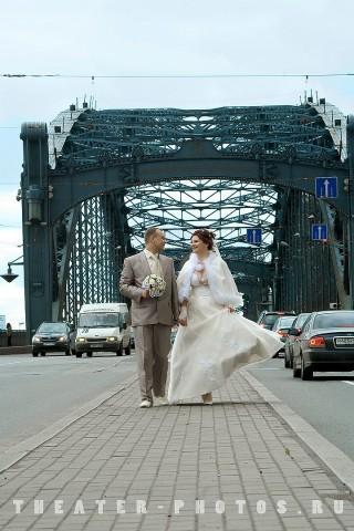 свадьба на дороге