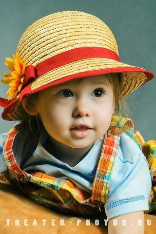 портрет малыша