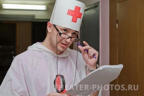 врач на свадьбе