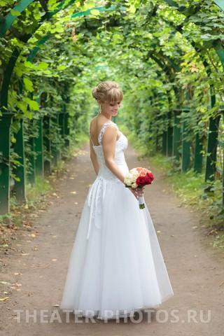 свадебная прогулка в Петродворце