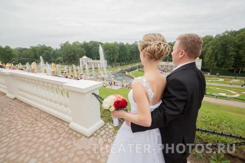 Петродворец свадьба Нижний парк (2)
