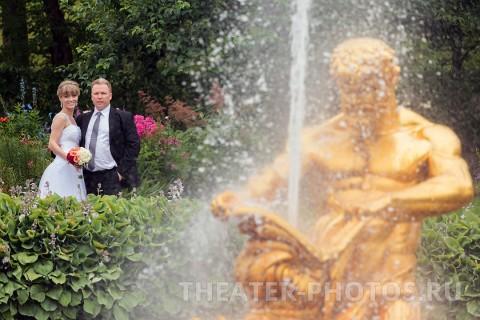 Петродворец свадьба Нижний парк (4)