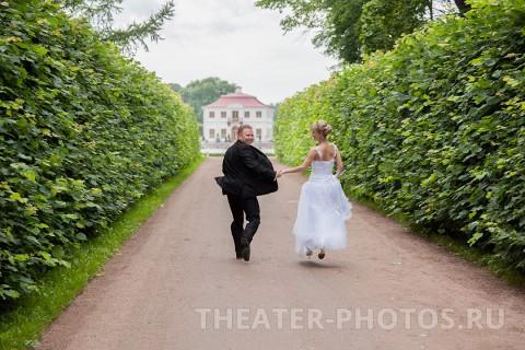 Петродворец свадьба Нижний парк (7)